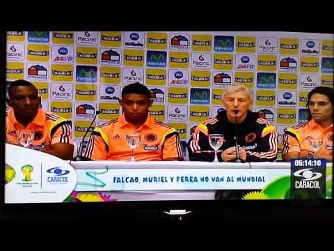 Falcao Fuera del mundial Brasil 2014 - Colombia sin Falcao en Brasil 2014