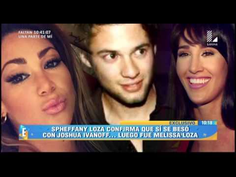 Sphefanny Loza Acepta Que Sí Besó A Joshua Ivanoff
