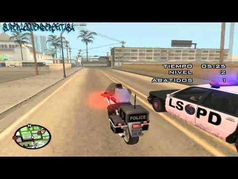 LOQUENDO GTA San Andreas | Cj trabaja de Policia
