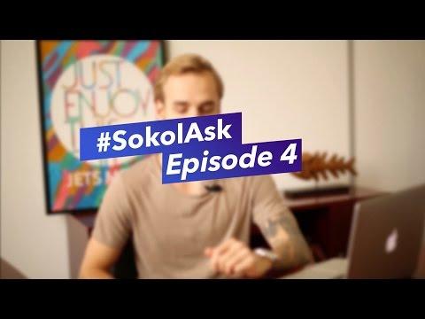 IRL маркетинг, анализ эффективности соцсетей и развитие дизайн студии | #SokolAsk Episode 4