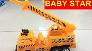 Đồ chơi xe công trình xe xúc đất I toy cars I  자동차 완구 I  Автомобильные игрушки