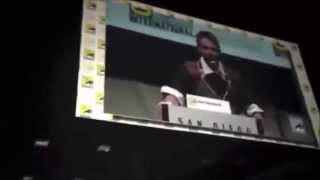 Superman and Batman Movie Comic Con 2013 full announcement Zack Snyder 2015