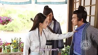 "[Eng Sub] [BTS] Zhao Li Ying & William Chan - ""Rapping"" Cut"