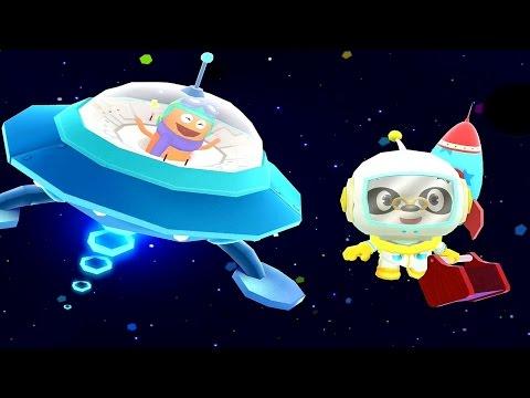 Доктор Панда в Космосе - Развивающий мультфильм для детей / Dr  Panda in Space
