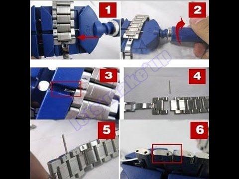 How to Resize / Shorten Watch Bracelet