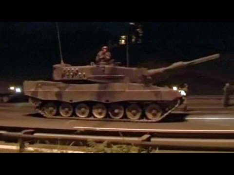 В Турции этой ночью совершена попытка госпереворота.