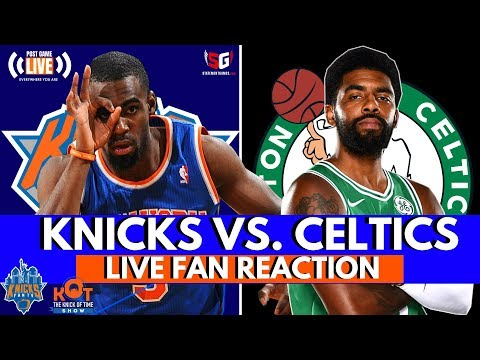 Crazy Game At MSG!| Knicks 101 vs. Celtics 103 LIVE Reaction and Fan Phone In!| Livestream Part 2