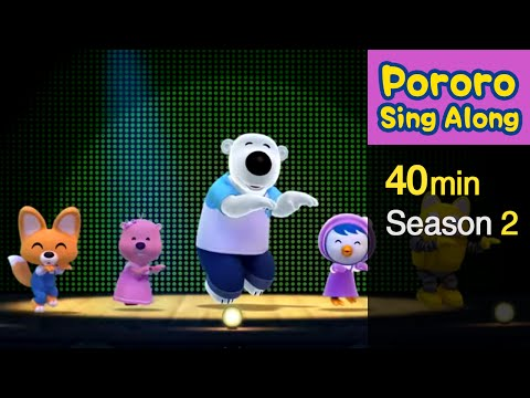 [Pororo Sing Along Collection S2] Pororo Songs for Children