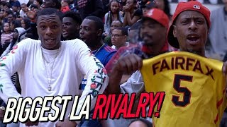 Los Angeles BIGGEST RIVALRY! Crowd ROASTING PLAYERS! Fairfax VS Westchester FULL HIGHLIGHTS