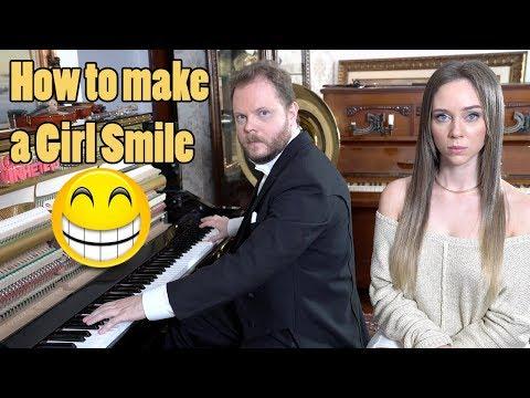 How to Make a Girl Smile Vídeos de zueiras e brincadeiras: zuera, video clips, brincadeiras, pegadinhas, lançamentos, vídeos, sustos