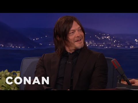 "Norman Reedus Knows Who Dies On ""The Walking Dead""  - CONAN on TBS"