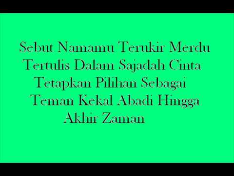 Istikharah Cinta By. Sigma With Lyrics video