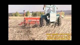 Сеялка зернобобовая СЗМ-6 ВЕЛЕС-АГРО(MINI-TILL) АНАЛОГ GREAT PLAIN