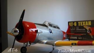 Top Flite AT-6 Texan Preview