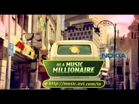 Nokia Ovi music TV commercial ad promo 2010 OVI music store india