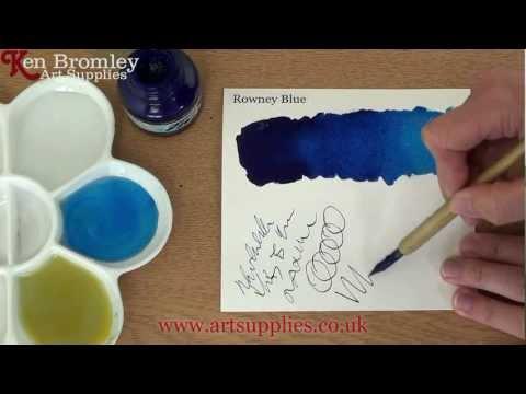 Daler Rowney FW Ink Rowney Blue 119