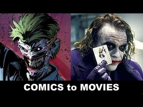 "Heath Ledger is The Joker! From ""Death of the Family"" in Batman to Jack Nicholson & Mark Hamill!"