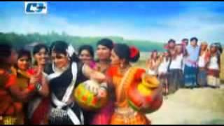 Duti Moner Paglami Bangla Movie Full Video Song   Chad Komari 2014 HD   YouTube