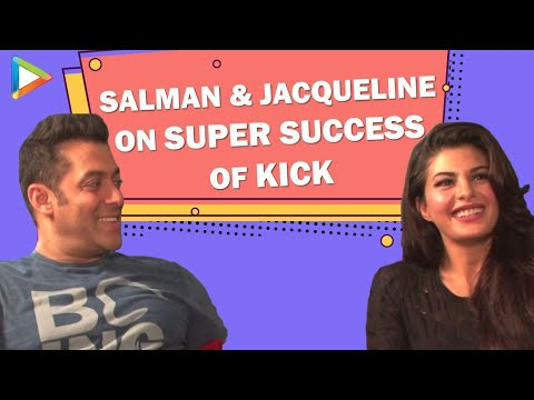 Salman Khan Jacqueline Fernandez Exclusive On The Super Success Of Kick video