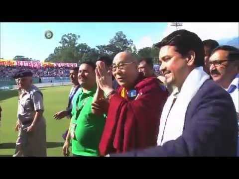 HH The Dalai Lama & Anurag Thakur: Dharamshala 2014