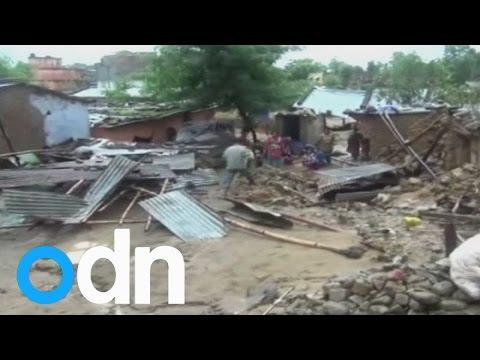 Devastating floods and mudslides in Nepal