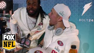 San Francisco 49ers best podium moments from Super Bowl LIV Opening Night | FOX NFL