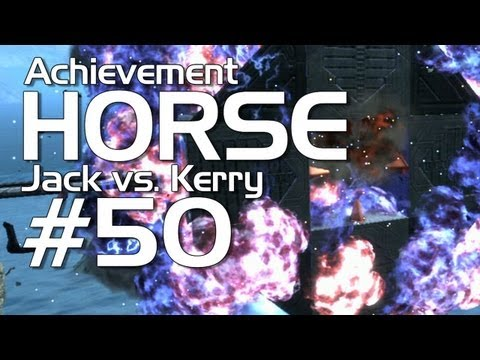 Halo: Reach - Achievement HORSE #50 (Jack vs. Kerry)