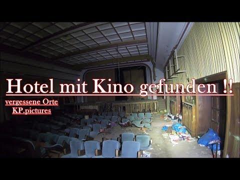 Lost Place - Hotel mit Kino gefunden