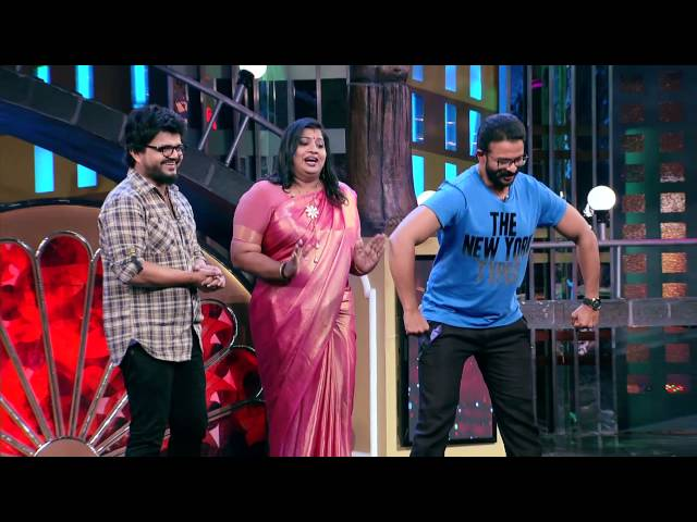 Jayasurya & Nadirsha with Priyanka in  Cinemaa Chirimaa at 8 pm on19th Nov.