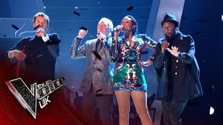 The Coaches Perform 39 Under Pressure 39 The Voice Uk 2017