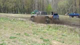 Blue F150 Pickup Fun Mudding At Mudfest