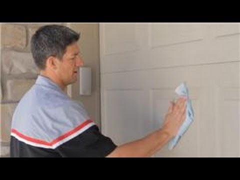 Garage Door Help How To Clean A Garage Door Youtube