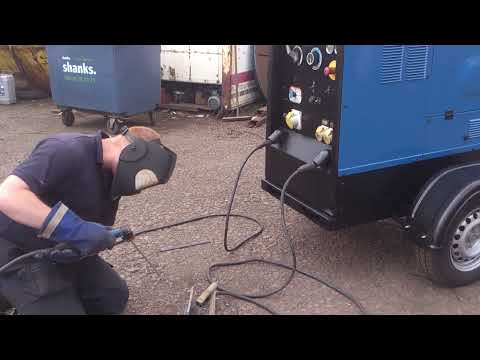 Miller Big Blue 500X Diesel Welding Generator for Site Welding For Sale By Westermans