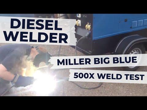 Miller Big Blue 500X Diesel Welding Generator for Site Welding For Sale By Westermans