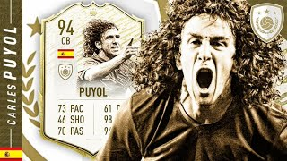 WORTH THE UNLOCK?! 94 ICON SWAPS PUYOL REVIEW!! FIFA 20 Ultimate Team