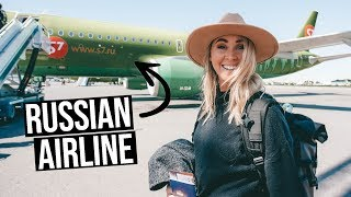 Flying A Russian Low Cost Airline from Moscow to France on S7 Airlines