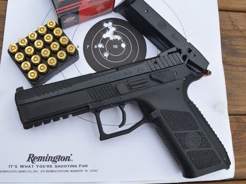 CZ P-09 100 Yard Accuracy Test