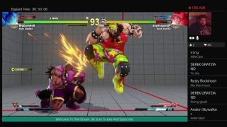 Street Fighter V Livestream Grinding Got To Get Better