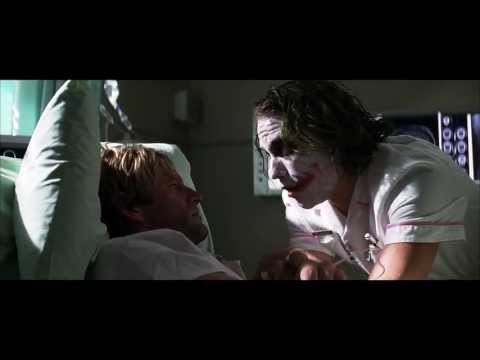 The Dark Knight - Joker and Two-Face hospital scene | Batman-News.com
