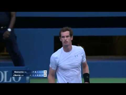 Murray vs Mannarino us open