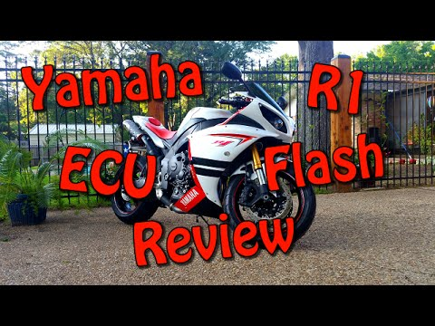 SuperBike Unlimited Yamaha R1 ECU Flash Tune Review and First Ride | Mods Walkaround