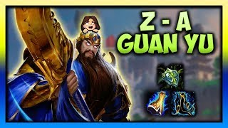 GUAN YU UNDERRATED?! (Ranked Solo)