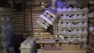 Mouse Metropolis Egg Carton Theme