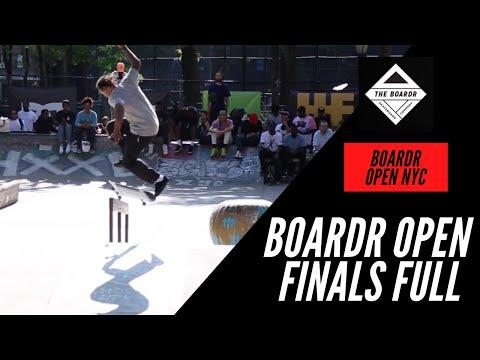 BOARDR OPEN NYC 2021 FINALS RUNS