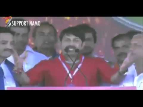 Manoj Tiwari Sings Bhojpuri Song for Narendra Modi !