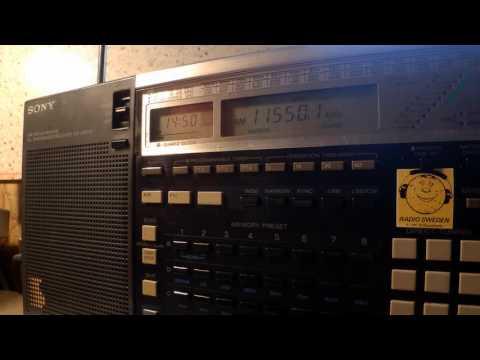27 01 2016 WEWN 3 Radio Catolica Mundial relay Vatican Radio in Spanish to MEX 1450 on 11550Vandiver