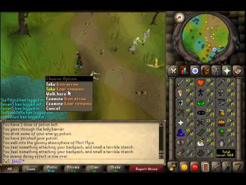 Runescape 2007 Shades Slayer Guide