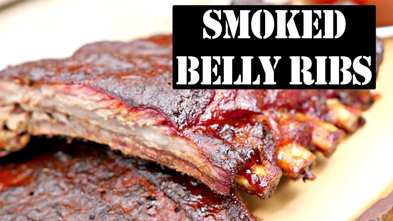 Smoking ribs