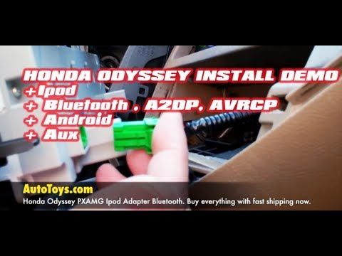 Honda Odyssey IPOD & BLUETOOTH . Android Aux PXAMG with ISBT21 by iSimple & Autotoys