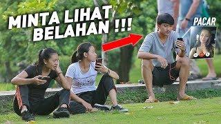 VIDEO CALL SAMA PACAR - MINTA LIHAT BELAH4NNYA !! | PRANK INDONESIA